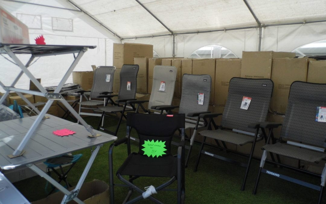 -10% sur toute la nouvelle collection de fauteuils, transats, chaises, tables et meubles