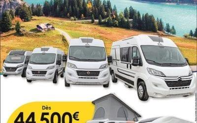 Grand déstockage sur tous les vans ADRIA en stock
