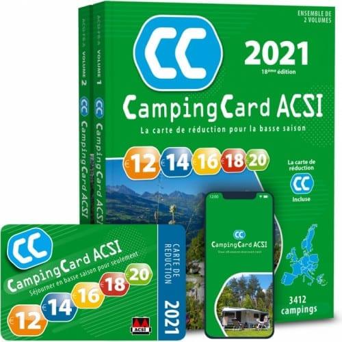 Les guides ACSI 2021 sont arrivés en concession !